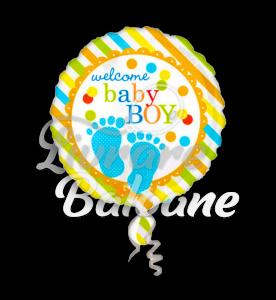 Baby Feet Boy, 46 cm, Anagram