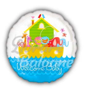Welcome Baby Noah's Ark, 45 cm, Anagram, U.S.A