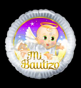 ANGEL *** MI BAUTIZO, 46 cm, Qualatex