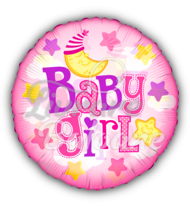 """24"""" PR Baby Girl Moon Clear View, Mexico"""