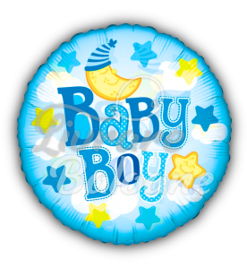 """24"""" PR Baby Boy Moon Clear View, Mexico"""