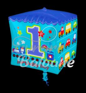 Cubez All Aboard 1st Birthday Boy, 38 * 38 cm, Anagram