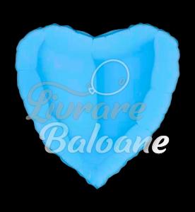 Inima Albastru- Deschis 48 cm, Grabo