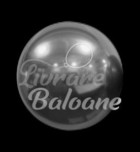 Sfera  Foil Balloon Ball Silver 18 cm, S.A.G.