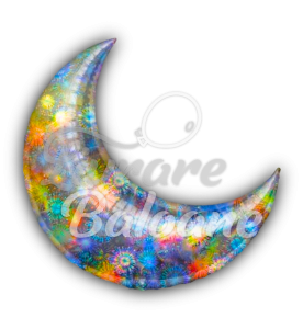 Crescent  Moon   Silver 26'' , Anagram