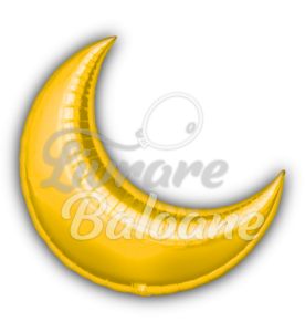 Crescent  Moon Gold 36'',  Anagram