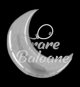 "Crescent  Moon  26"" Silver, Grabo"