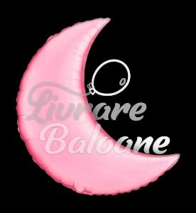 """Crescent  Moon  Pink 35"""" , Qualatex"""