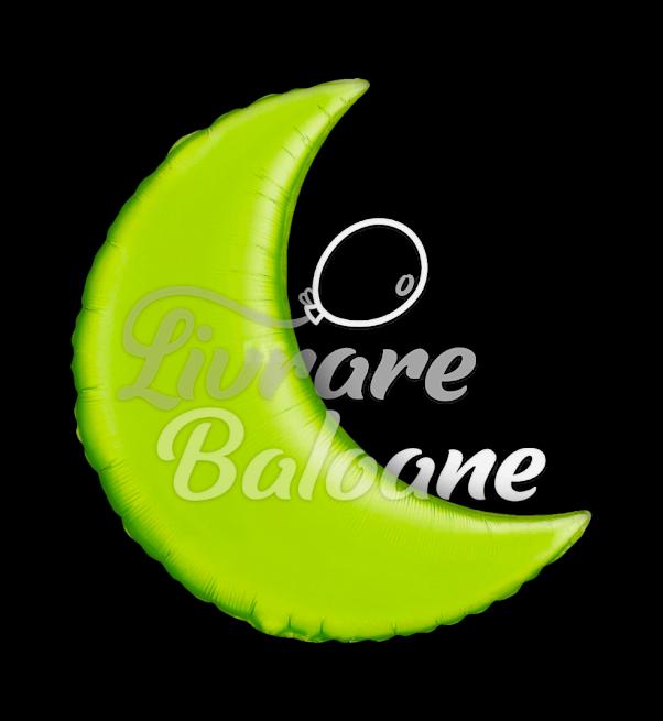 "Semiluna Lime Green  35"" , Qualatex"
