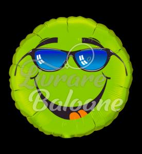 Păstrați-l verde lime rece  46 cm,  Qualatex