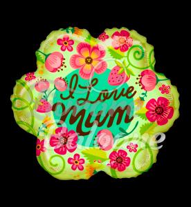 Balon LOVE MOM  48 cm, Mexico
