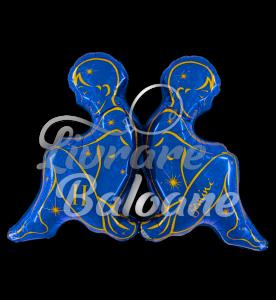 Zodia Gemeni  Blue 104 cm