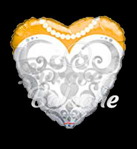 Heart  Bride's  Dres  48 cm, Mexico