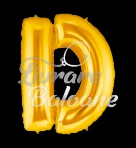 "Litera ""D"" aur, Betallic 102 cm, U.S.A."