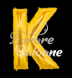 "Litera ""K"" aur, Betallic 102 cm, U.S.A."