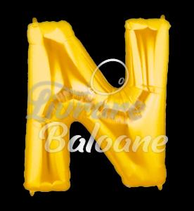 "Litera ""N"" aur, Betallic 102 cm , U.S.A."