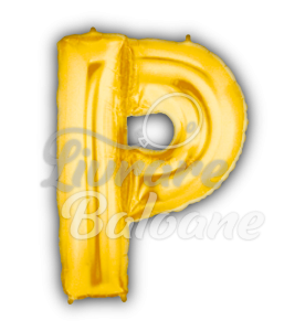 "Litera ""P"" aur, Betallic 102 cm, U.S.A."