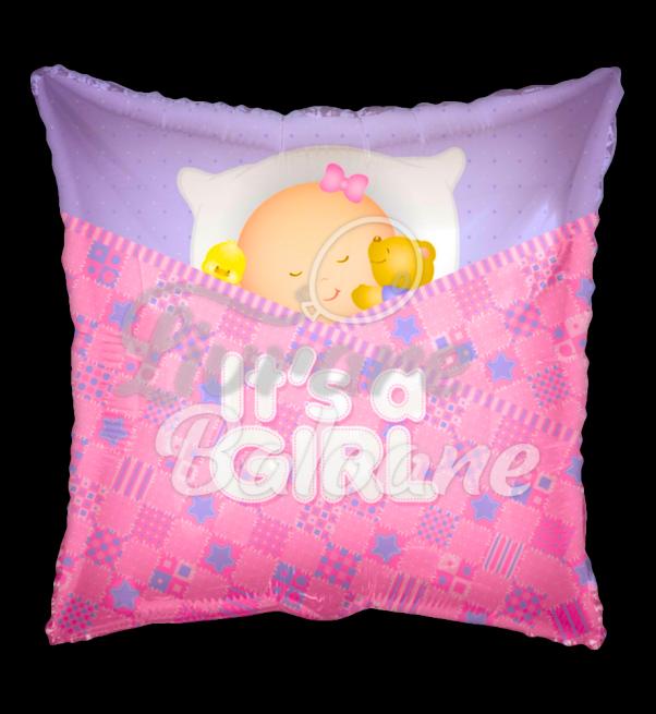 PR Baby Girl Sleeping Square, 45 cm, Mexico