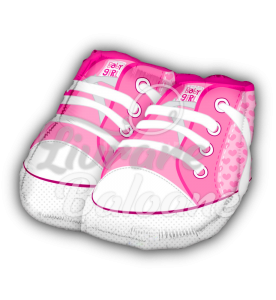 BABY SHOES PINK, 46 cm, Mexico