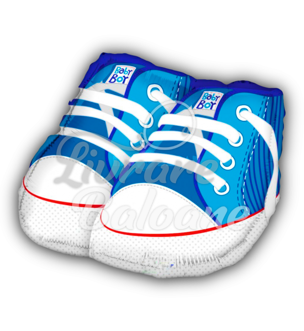 BABY SHOES BLUE, 46 cm, Mexico