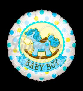 Sv Baby Boy Rocking Horse Gellibean,  46 cm, Mexico