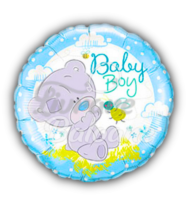 TINY TATTY TEDDY BABY Boy, 46 cm, Qualatex